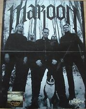MAROON  //  HELLSAW   __  1 Poster  __  SIZE : 29,5 cm x 38,5 cm