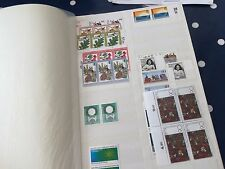 Germany Bundespost + Berlin 28 pages full substantial nhm stock hoard ££££££