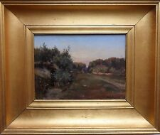 ASCAN LUTTEROTH 1842-1923 FINE ORIGINAL SIGNED OIL ON PAINTING 'AUMUHLE' 1865