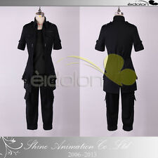 EE0025BN FINAL FANTASY XV Noctis Lucis  Cosplay Costume + wig, boots DHL carry