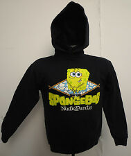 SPONGEBOB SQUAREPANTS YOUTH LG HOODIE HOODY NICKLEDEON BIKINI BOTTOM CARTOON VTG