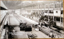 1920s Realphoto Car Postcard: Ford Motor Co., Rolling Mill, Rouge Steel Plant