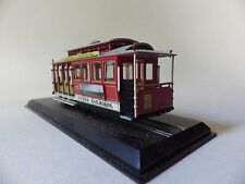 TRAM CABLE CAR SAN FRANCISCO FERRIES CLIFF 1888 1/87