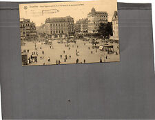 Belgium Brussels Boulevard du nord posted  card 1920 A100
