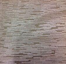 Beacon Hill Slubby Cut Velvet Upholstery Fabric- Eva Velvet/Sand 1.55 yd 207518