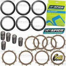 Apico Clutch Kit Steel Friction Plates & Springs For KTM SX 105 2017 Motocross