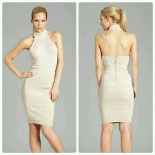 ���� GUESS BY MARCIANO HALTER BANDAGE DRESS �� ��