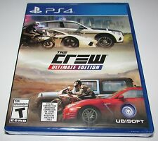 The Crew Ultimate Edition for Playstation 4 Brand New!