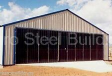 DuroSTEEL 70' Wide by 20' Tall Metal Commercial Airplane & Ag. Stack Door DiRECT