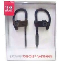 Beats By Dr. Dre Powerbeats 3 Black Wireless In Ear Earbuds Bluetooth Headphones
