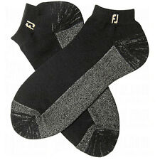 NEW FootJoy Mens ProDry Extreme Sport Socks - Black (XL Shoe Size 12-15)