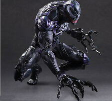 "HOT  Marvel PLAY ARTS KAI  Universe VARIANT Venom Spider-man 10"" ACTION FIGURE"