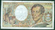 FRANCE 200 FRANCS MONTESQUIEU de 1992  ETAT: TTB  L 119