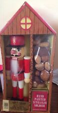 HANDPAINTED Wooden NUTCRACKER SOLDIER NEW IN BOX NEW PRICE