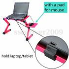 360° Foldable Laptop Lap Desk Notebook Table Stand Portable Bed Sofa Tray Holder