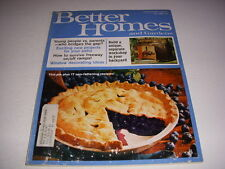 BETTER HOMES AND GARDENS Magazine, July, 1969, 60's Decorating, Patio Ideas!