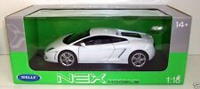 WELLY 1/18 - 18029W LAMBORGHINI GALLARDO LP560-4 - WHITE