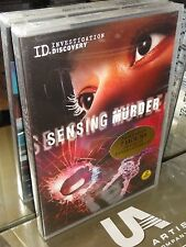 Sensing Murder (DVD) 3-Disc Set! 7 Hours! Investigation Discovery! BRAND NEW!