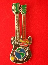 HRC hard rock cafe san Francisco Earth Day 2002 Guitar spinning Earth le350