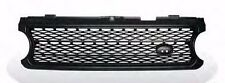 Front Grille Matte Black for LAND ROVER RANGER ROVER L322 Supercharged 2006-2009
