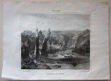 1838 LAVAUX S.T ANNE Lavault-Sainte-Anne lito Léon Sabatier Allier Desrosiers