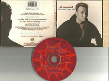 Ub40 ALI CAMPBELL That Look In your eye 2 MIXES & UNRELEASE CD single USA Seller
