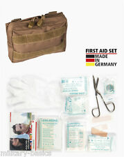 Molle First Aid Kit IFAK Modular Erste Hilfe LEINA 25 tlg Modular small coyote