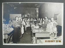 Vintage California Fruit Growers Fig Packaging Plant Photograph - 1919