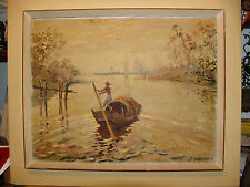 antique russian ? russia  oil painting  art Impressionism europe ?? unknown