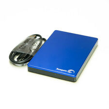 Seagate Backup Plus Slim Portable External Hard Drive USB 3.0 Enclosure BLUE
