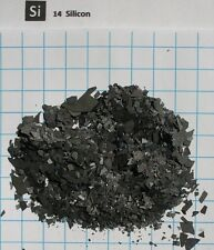 10 Gram 99.999% silicon chips - Pure Element 14 sample