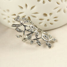 Women Ring Brief Designed Rings Nice Branch Shaped Big Toe Ring Elegant Ring