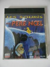 LES SOURIS DU PÈRE NOEL - PHILIPS CDI - JEU PHILIPS CD-i COMPLET