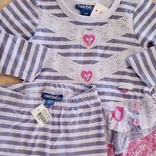 NEW!! 6-12 MONTH NAARTJIE KIDS 2PC PURPLE HEARTS OUTFIT ADORABLE