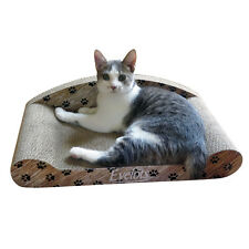 Evelots Cat Scratcher Lounge Kitty Couch,Post Lounge Cat Grinding Claws Sofa Bed