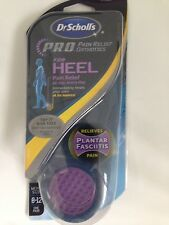 DR. SCHOLL'S PAIN RELIEF ORTHOTICS FOR HEEL MENS SIZE USA 8-12/UK 7-11 PLANTAR