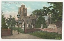 Hemmingford Grey Church Vintage Postcard 144a