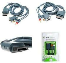 VGA HD AV Audio Video Out Cable For Microsoft Xbox MS X Box 360
