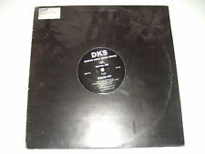 "DKS ‎– Deeper Down (Were Going)  – Disco 12"" 45 Giri Vinile Stampa UK 2001 House"