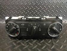 2011 MERCEDES A160 CDI W169 AUTOMATIC CLIMATE CONTROL PANEL A1699000900