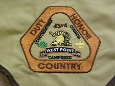 WEST POINT SCOUTS NECKERCHIEF 43rd USMA CAMPOREE