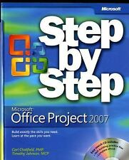 Microsoft® Office Project 2007 Step by Step (Step By Step (Microsoft)), Johnson,