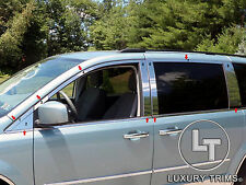 Grand Caravan Town & Country Stainless Steel Chrome Window Package 2008-17 *OPEN