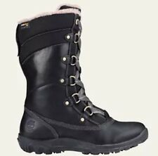 Women's Timberland Mount Hope Mid Waterproof Snow Boots Black 8709R. Size:7