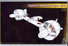 Unicraft Models 1/72 LIPPISCH COMBAT AERODYNE (CAD) German Research Aircraft