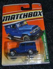 2011 MATCHBOX JUNGLE EXPLORERS ' 68 TOYOTA LAND CRUISER BLUE 95/100