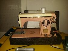 "RARE PINK Sewing Machine 50's Precision Heavy Duty ""Free Westinghouse"" Brand"
