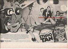 FRANK ZAPPA Studio Tan 1978 UK Press ADVERT 12x8 inches