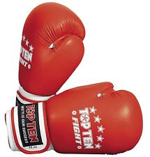 "Boxhandschuh TOP TEN ""Fight"" 10 oz. Kickboxen. Boxen. mehrere Farben. WAKO."