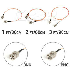 CGPro Ultra Thin BNC to BNC HD-SDI 3G-SDI Cable 30+60+90CM 3PCs Set UK!